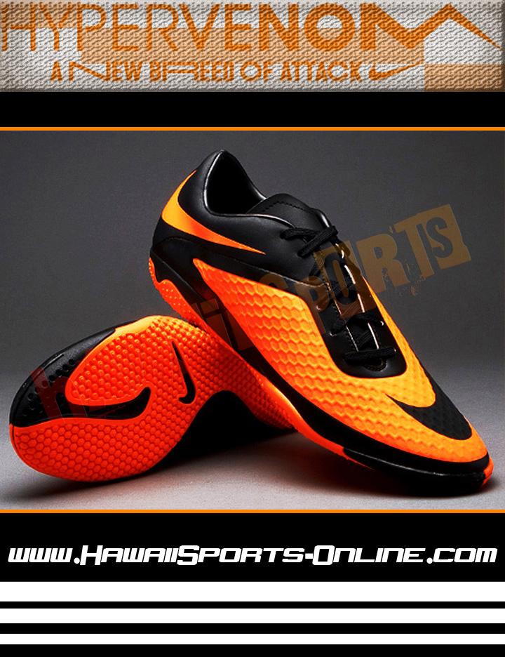 Sepatu Futsal Original Nike Hypervenom Phelon IC Black/Cytrus (Indoor). Tweet ...