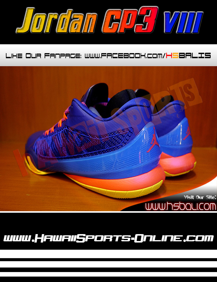Sepatu Basket Original Nike Jordan CP3 VIII Deep Royal Blue (Chris Paul).  Tweet ... a5cdcdc8e2