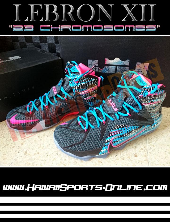 Toko Olahraga Hawaii Sports  Sepatu Basket Original Nike Lebron XII ... 2ac2a4da0b