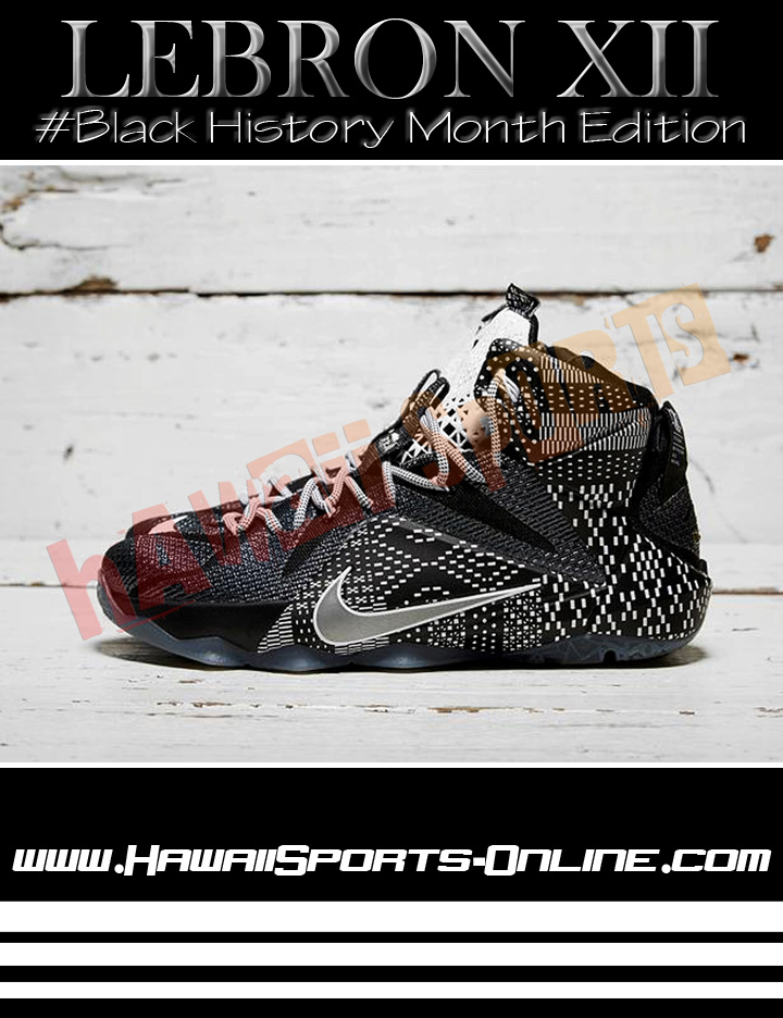 quality design d2a8c ef584 Toko Olahraga Hawaii Sports  Sepatu Basket Original Nike Lebron XII ...