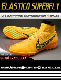 innovative design addd9 5e7a2 Sepatu Futsal Original Nike Elastico Superfly TF Laser Orange (Astro Turf)